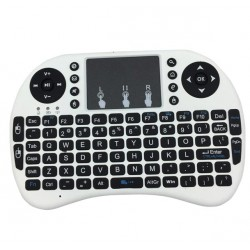 Mini Wireless Air Mouse 92-key Keyboard - WHITE