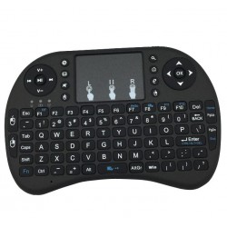 Mini Wireless Air Mouse 92-key Keyboard - BLACK