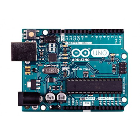 Arduino Uno Rev3 - board with ATmega328 microcontroller