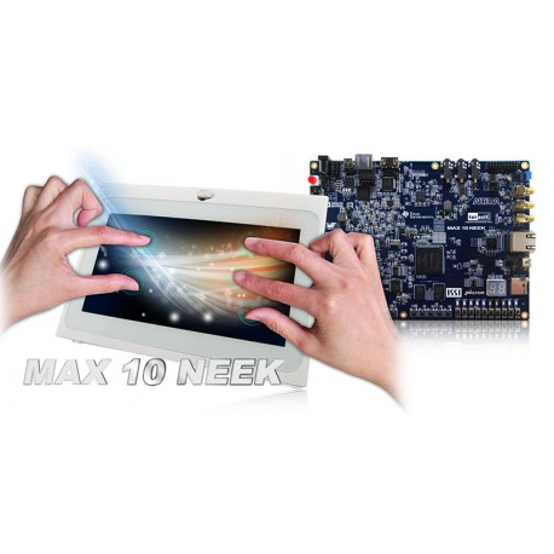 """MAX 10 NEEK z wyświetlaczem 7"""" (P0800)"""