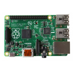 Raspberry Pi 1 model B + - computer with BCM2835 and 512 MB RAM
