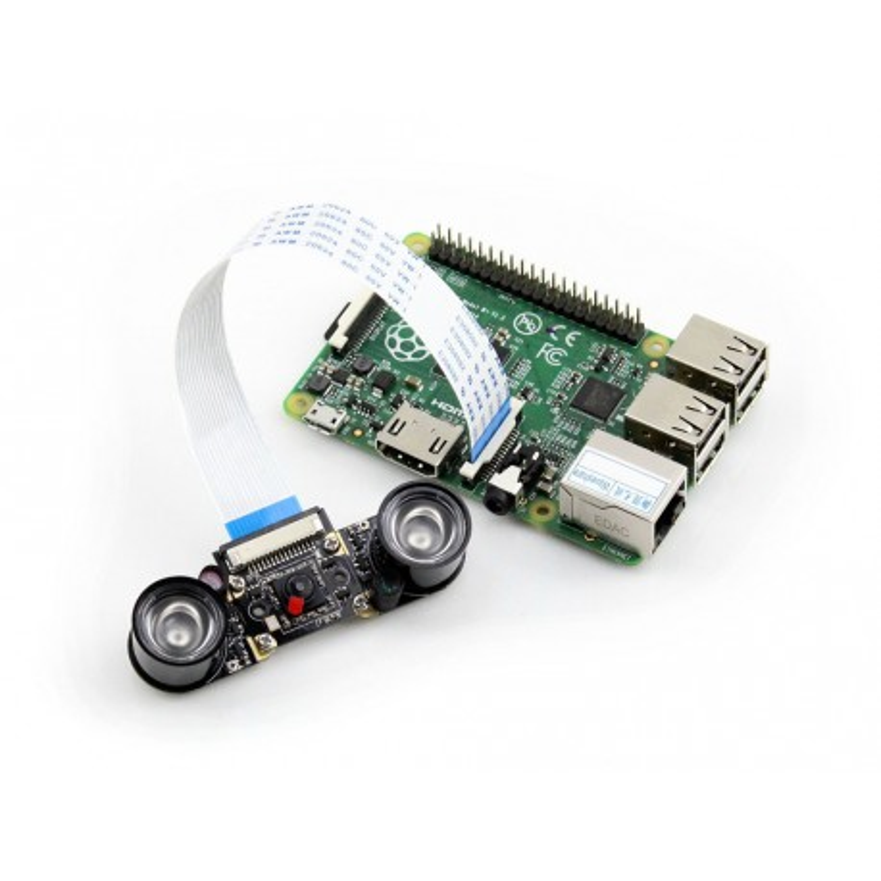 Kamera Night Vision HD E - kamera Raspberry Pi z podświetleniem IR