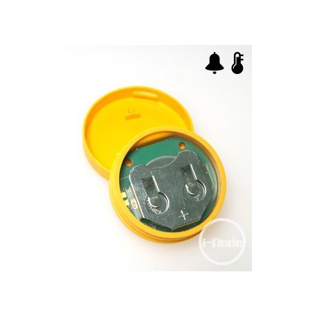 iNode Care Sensor HT (yellow) - wireless, accurate temperature and humidity sensor