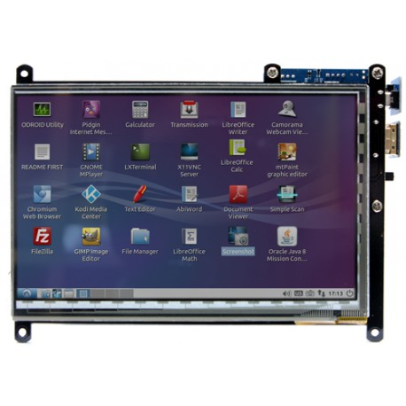 "ODROID-VU7 - 7 ""touch display for the C1 + Odroid"