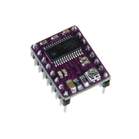 Stepper motor controller with DRV8825 system