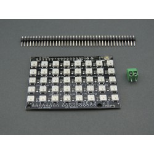 NeoPixel Shield (Arduino) - matryca 40 diod (8x5) RGB typu WS2812