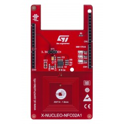 X-NUCLEO-NFC02A1 - Dynamic NFC tag expansion board based on M24LR for STM32 Nucleo
