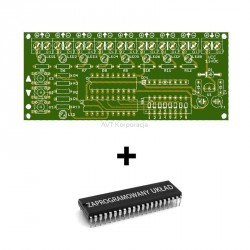 AVT1881 A + - programmable LED driver. PCB with programmed layout