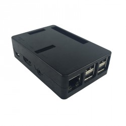 Case for Raspberry PI 2/B+/3 BLACK with snaps