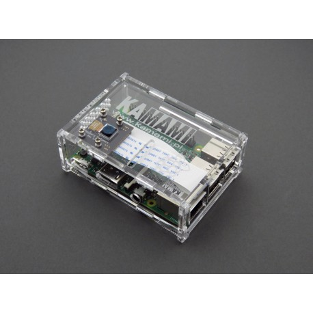 Raspberry PI 2 / B + / 3 housing increased for the camera module, transparent