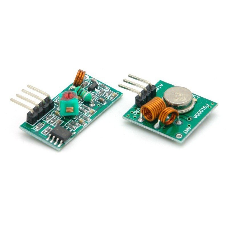 433Mhz RF Transmitter and Receiver Module