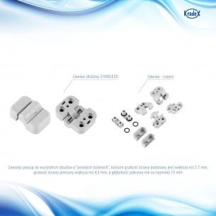 Przewód (adapter) BNC/MCX o długości 13cm (pigtail)