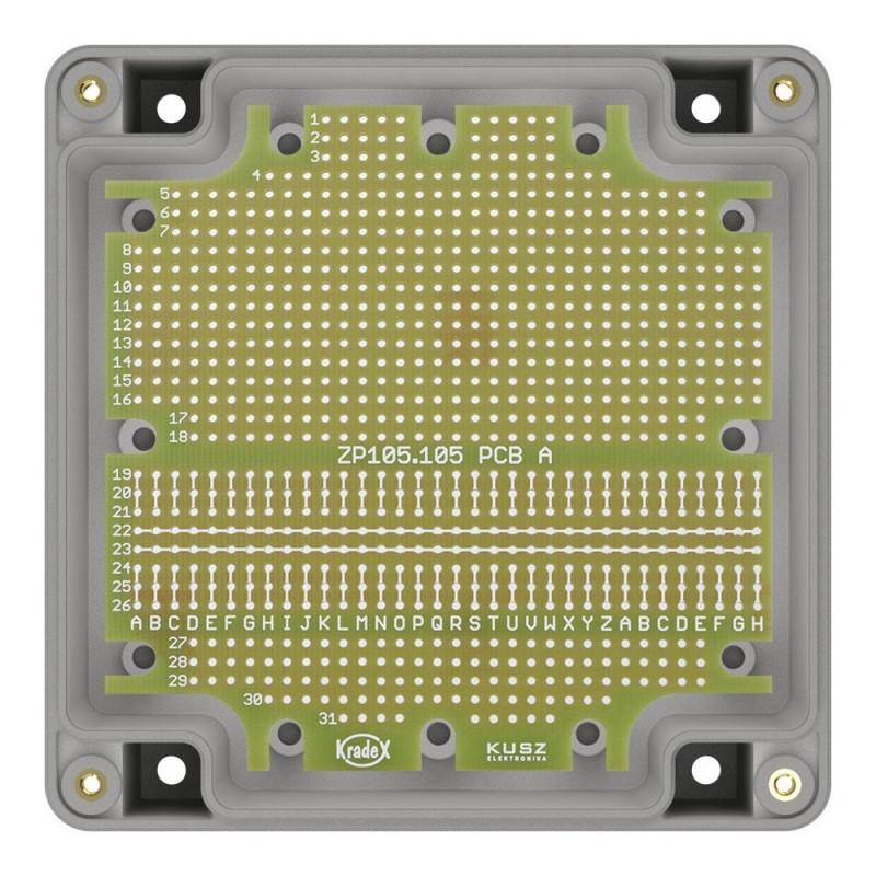 """Adafruit 0,56"""" 4-cyfrowy 7-segmentowy wyświetlacz LED z dodatkowym kontrolerem I2C - czerwony"""