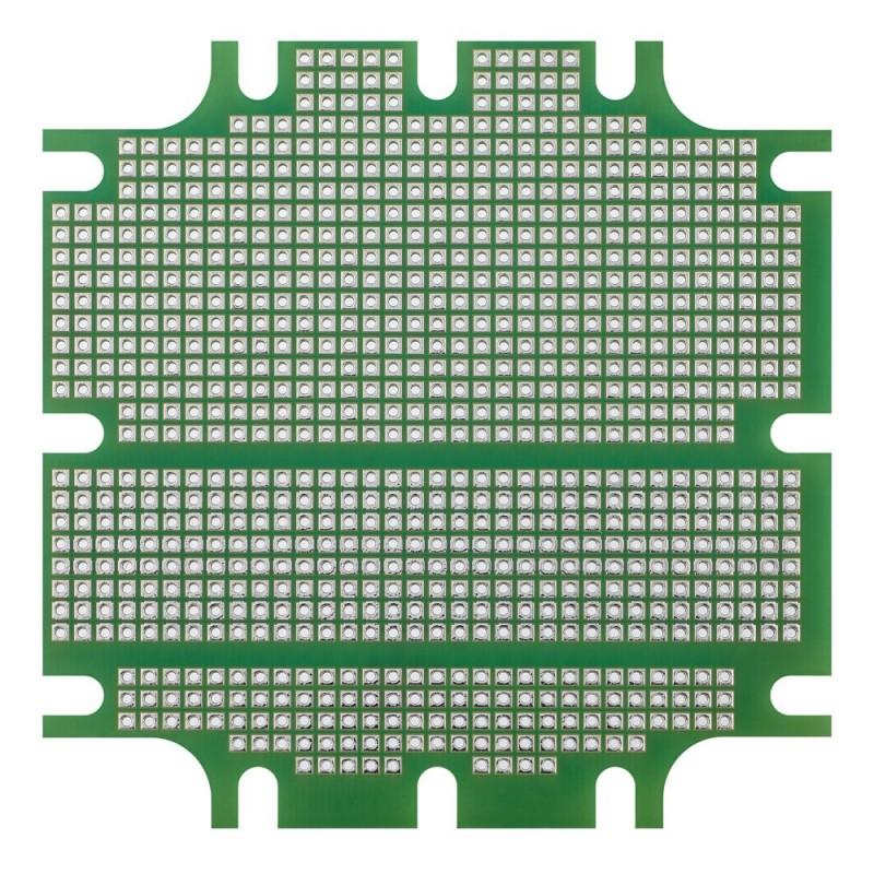"""Adafruit 0,56"""" 4-cyfrowy 7-segmentowy wyświetlacz LED z dodatkowym kontrolerem I2C - biały"""