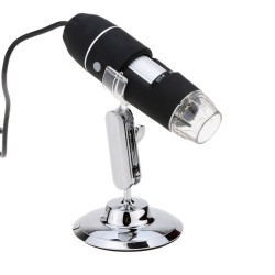 USB microscope with LED backlight