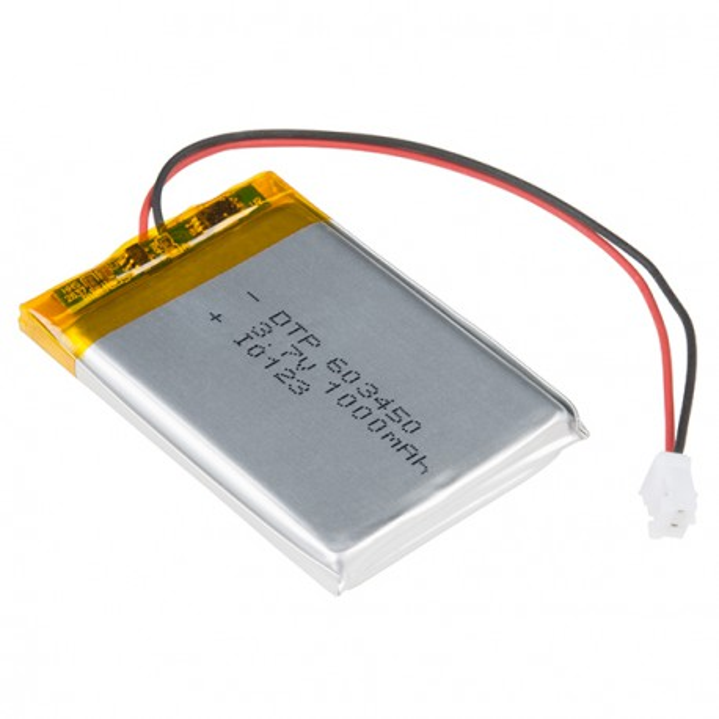 Lithium-polymer battery 1S 1000mAh