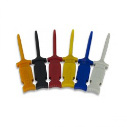Mini Grabber Test Clips (6-pack) for use with Analog Discovery Flywires