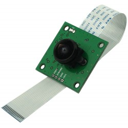 ArduCam OV5647 Camera 5Mpx with LS-40180 Fisheye M12x0.5 for Raspberry Pi