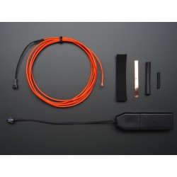 EL wire starter pack - Red 2.5 meter (8.2 ft)
