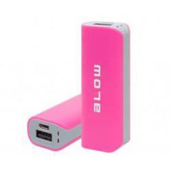 PowerBank Blow PB11 4000 mAh, różowy