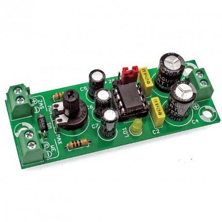 AVT794 B - acoustic amplifier with LM386 circuit