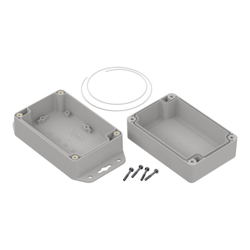 Crimp with a set of connectors