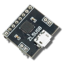 ZL5USB - USB-UART converter module with CP2102 chip from Silabs