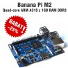 Banana Pi M2 - quad-core ARM A31S z 1GB RAM DDR3