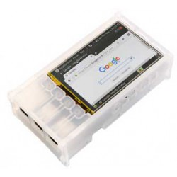 3.5inch LCD Shield Case SMOKY WHITE, for Odroid C1, C1+ and C2