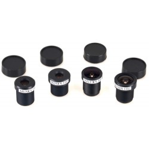 Zestaw soczewek M12 dla kamer Odroid oCam 8/6/3/2,65 mm