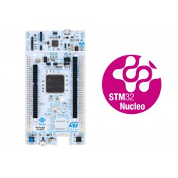 NUCLEO-F413ZH - STM32 Nucleo-144 development board with STM32F413ZH MCU, supports Arduino, ST Zio and morpho connectivity