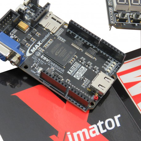 PROMO MAXIMATOR - a promotional set with the Altera FPGA MAX10 chip