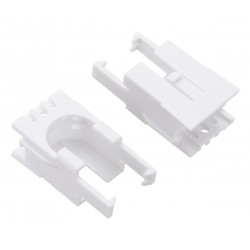 Pololu 3529 - Romi Chassis Motor Clip Pair - White