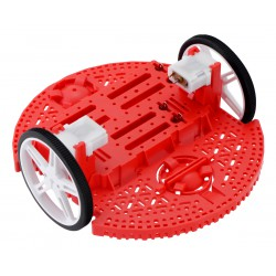 Pololu 3502 - Romi Chassis Kit - Red
