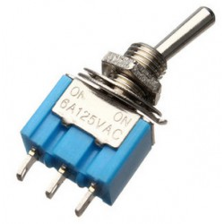 Lever switch SPDT (ON-ON) 6A / 125VAC