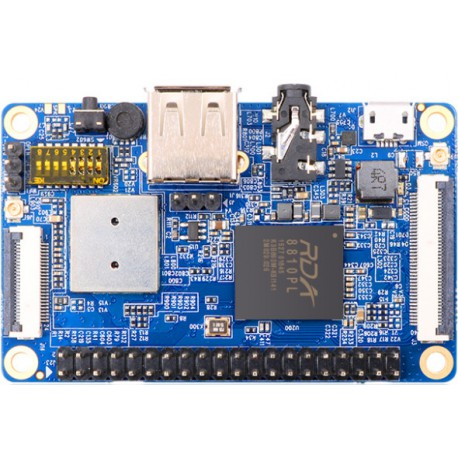 Orange Pi 2G-IOT - computer with RDA8810PL processor and GSM / GPRS module
