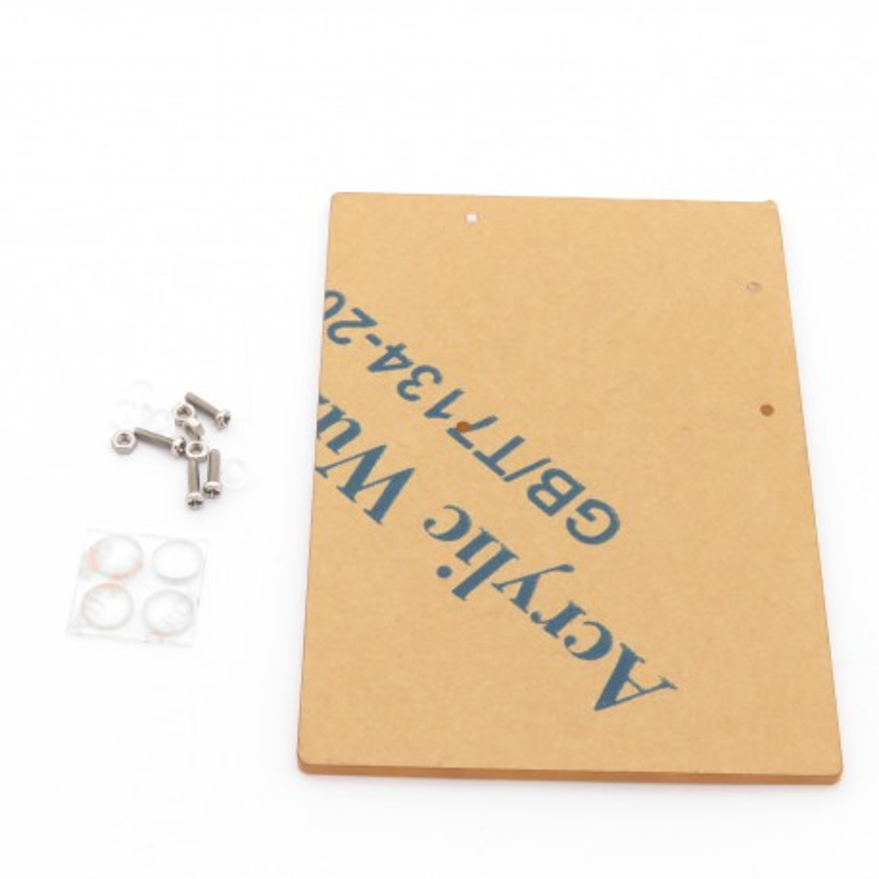 Przeźroczysta podstawka pod Arduino UNO i płytkę stykową