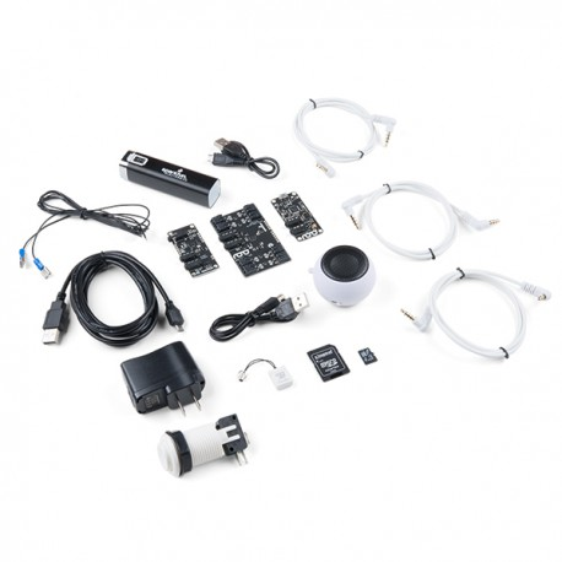 Spectacle Sound Kit - zestaw elementów do efektów dźwiękowych - zawartość zestawu