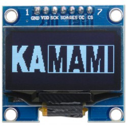 modOLED130_SPI WHITE - 7-pin OLED 1.3