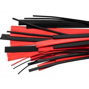 Rurki termokurczliwe czarne 8,0/4,0 – 10 szt. x 1 metr