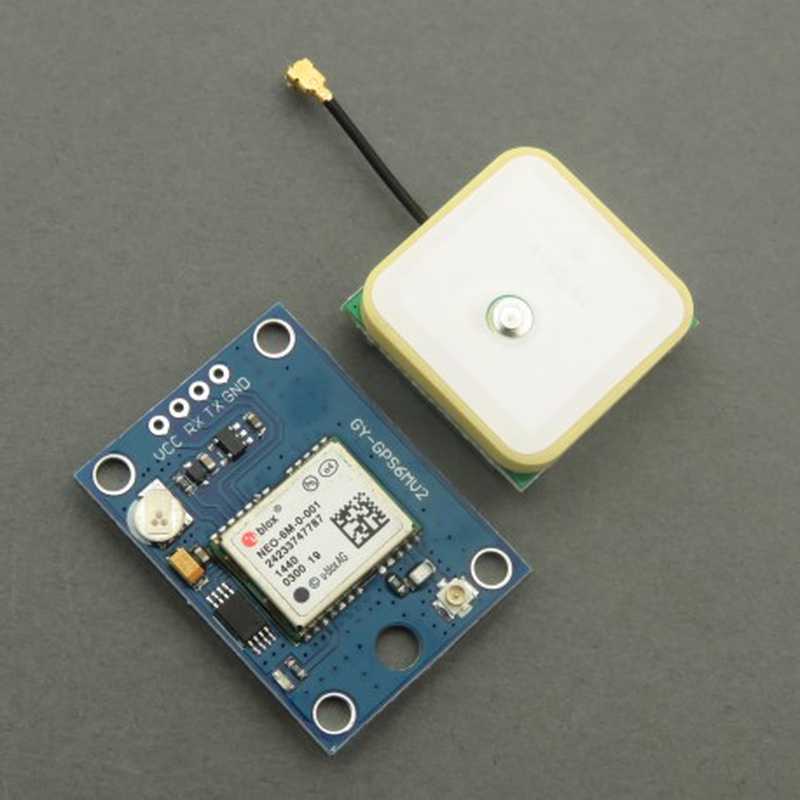 GY-GPS6MV2 - moduł GPS z układem U-blox NEO-6M