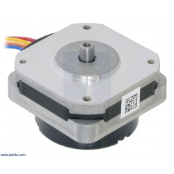 Pololu 2278 - Sanyo Pancake Stepper Motor with Encoder: Bipolar, 200 Steps/Rev, 42×24.5mm, 3.5V, 1 A/Phase, 4000 CPR