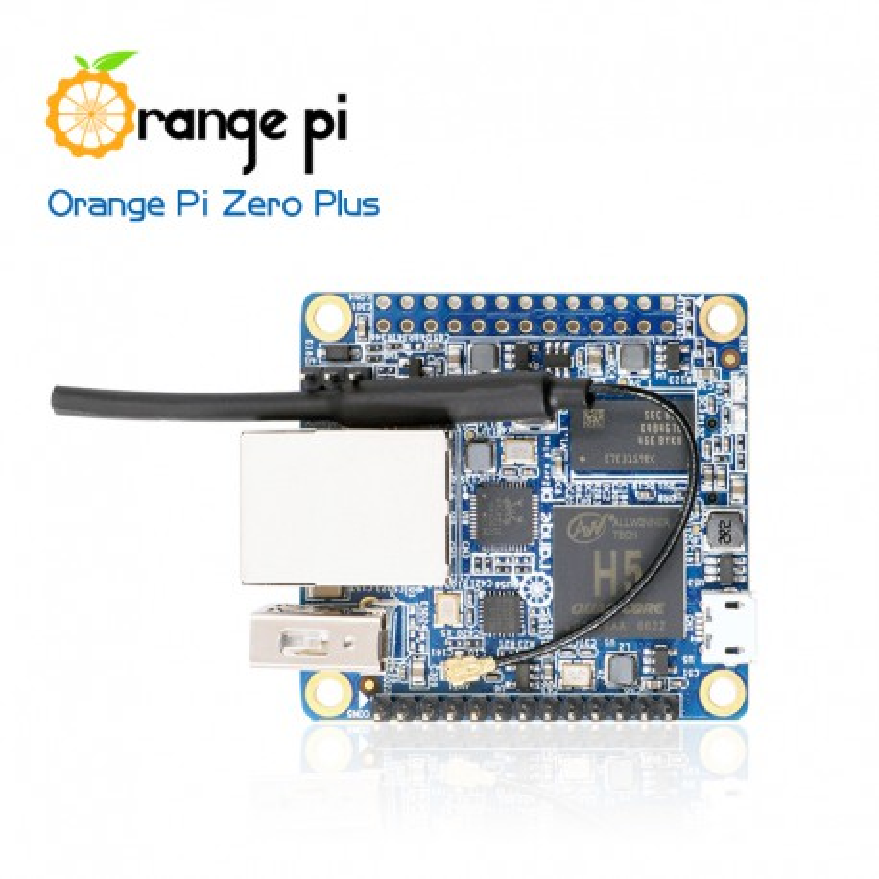 Orange Pi Zero Plus - komputer z procesorem Allwinner H5
