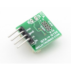 Adapter from 1.27mm pitch to 2.54mm (for PMS7003)