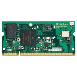 VisionSOM-6ULL - module with processor i.MX6 ULL, 512MB RAM, 512 MB NAND and WiFi/BT module