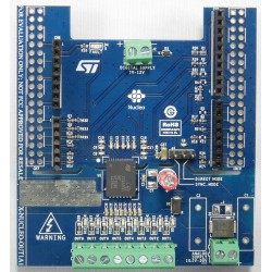X-NUCLEO-OUT01A1 - Industrial Digital output expansion board based on ISO8200BQ for STM32 Nucleo
