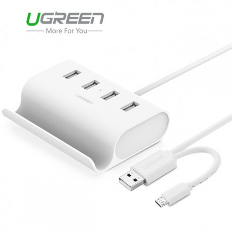 USB 2.0 High Speed Hub - 4 ports with external power supply