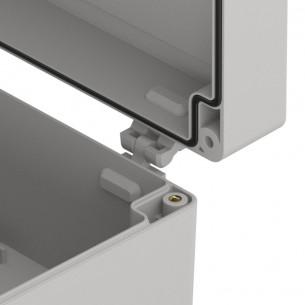 Podwozie 4WD z silnikami, przezroczyste