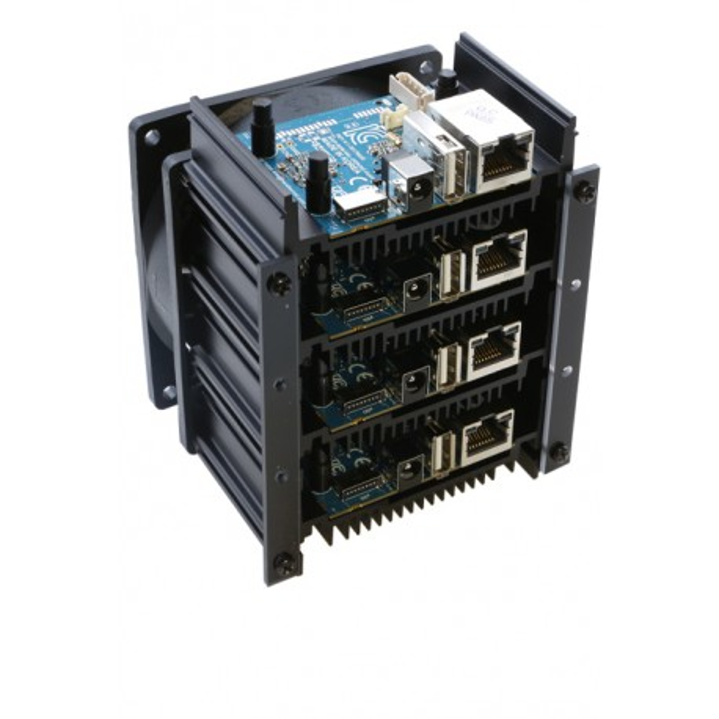 ODROID-MC1 - zestaw 4 minkomputerów z Samsung Exynos5422