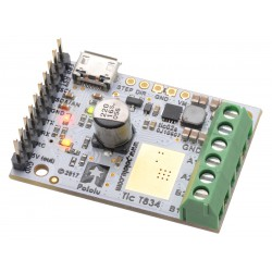 Pololu 3132 - Tic T834 USB Multi-Interface Stepper Motor Controller (Connectors Soldered)
